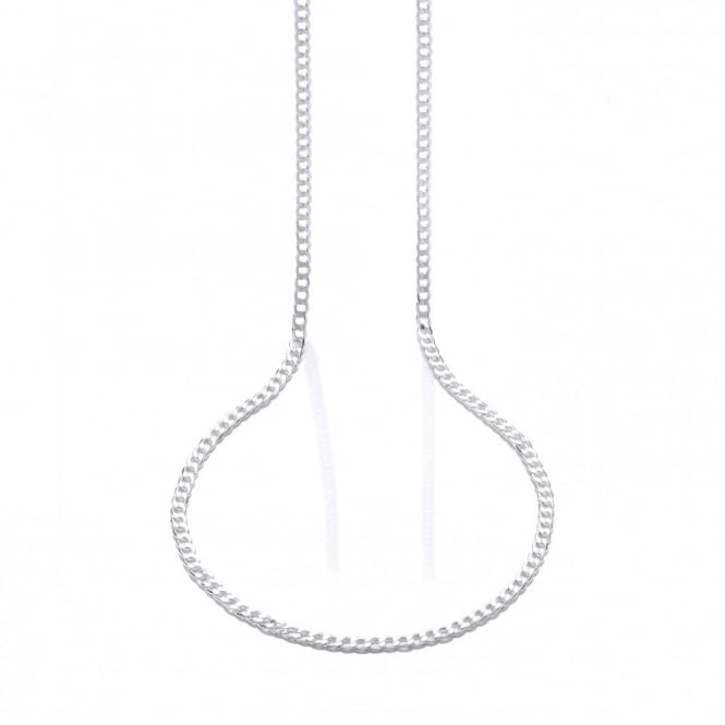 David Deyong Sterling Silver 23 Inch Curb Chain
