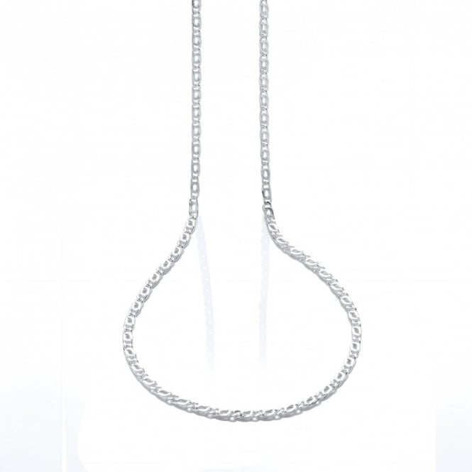 David Deyong Sterling Silver 23 Inch Marina Necklace