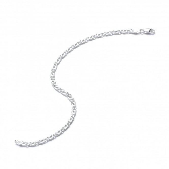 David Deyong Sterling Silver 8 Inch Marina Bracelet