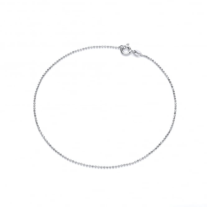 David Deyong Sterling Silver Classic Ankle Chain
