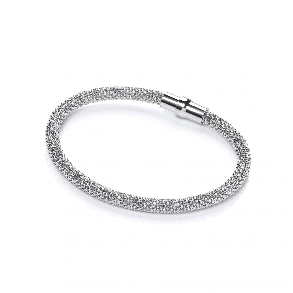 silver bangle ernest jones webstore product tennis diamond bracelet d bangles sterling number