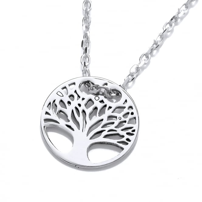 David Deyong Sterling Silver Tree of Life Fine Necklace
