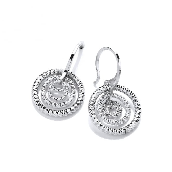 David Deyong Sterling Silver Triple Hoops Earrings